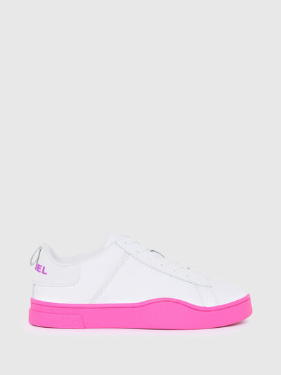Diesel - S-CLEVER LOW LACE W, White/Pink - Sneakers - Image 1