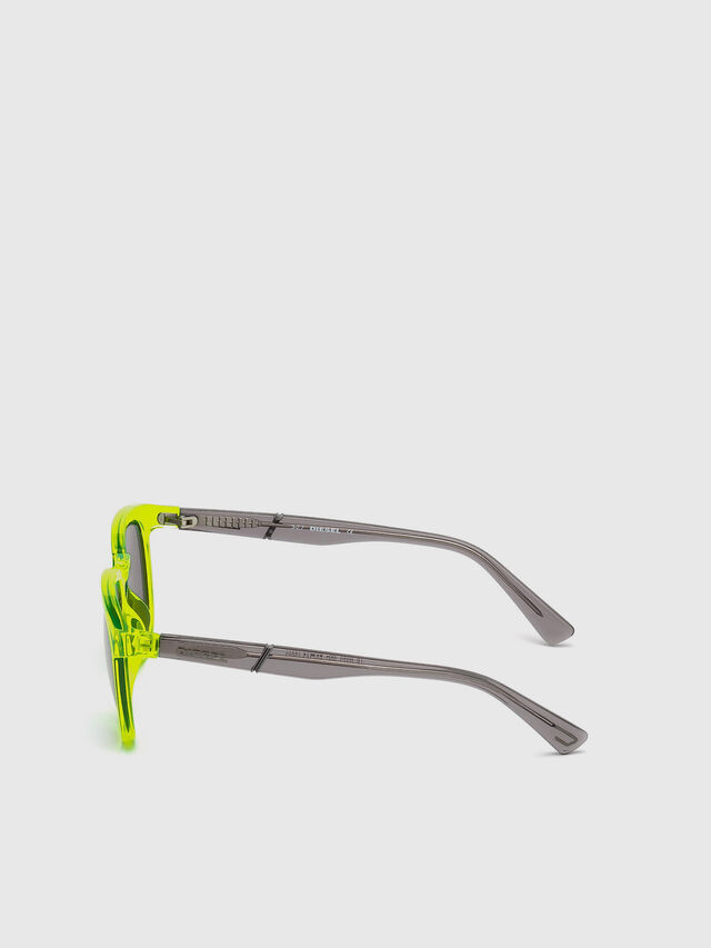 Diesel - DL0272, Yellow Fluo - Kid Eyewear - Image 3