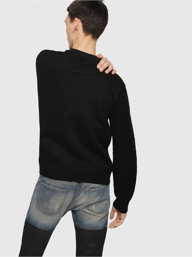 Diesel - K-RUSHIS, Black - Knitwear - Image 2