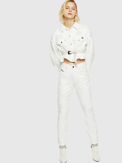 Diesel - D-Eiselle 069IJ, White - Jeans - Image 6