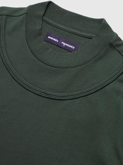 Diesel - PR-TS03, Dark Green - T-Shirts - Image 3
