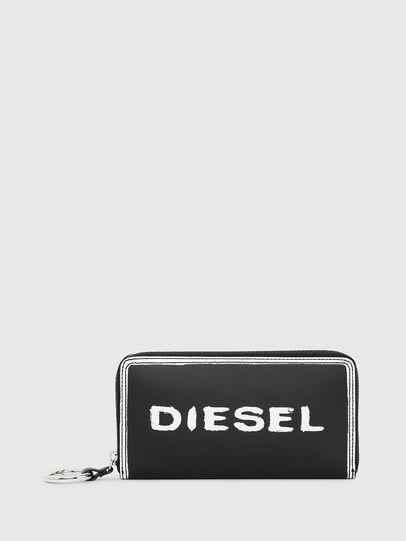 Diesel - GRANATO LC, Black/White - Zip-Round Wallets - Image 1