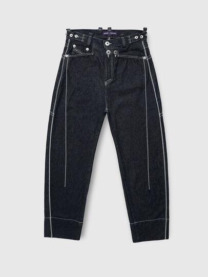 Diesel - PR-PT02A, Dark Blue - Pants - Image 1