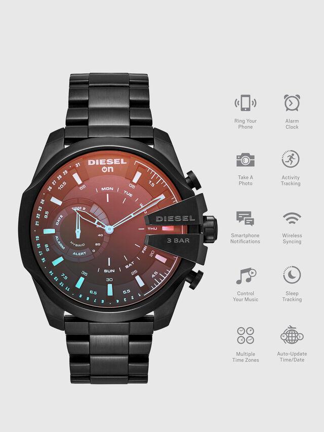 Diesel DT1011, Black - Smartwatches - Image 1