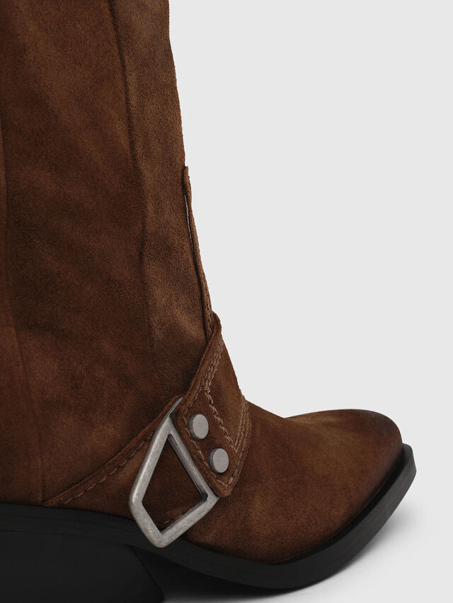 Diesel - D-GIUDECCA MA, Brown - Ankle Boots - Image 5