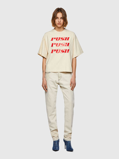 Diesel - T-BOWXY, White - T-Shirts - Image 5