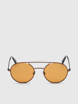 DL0301, Orange/Black - Sunglasses