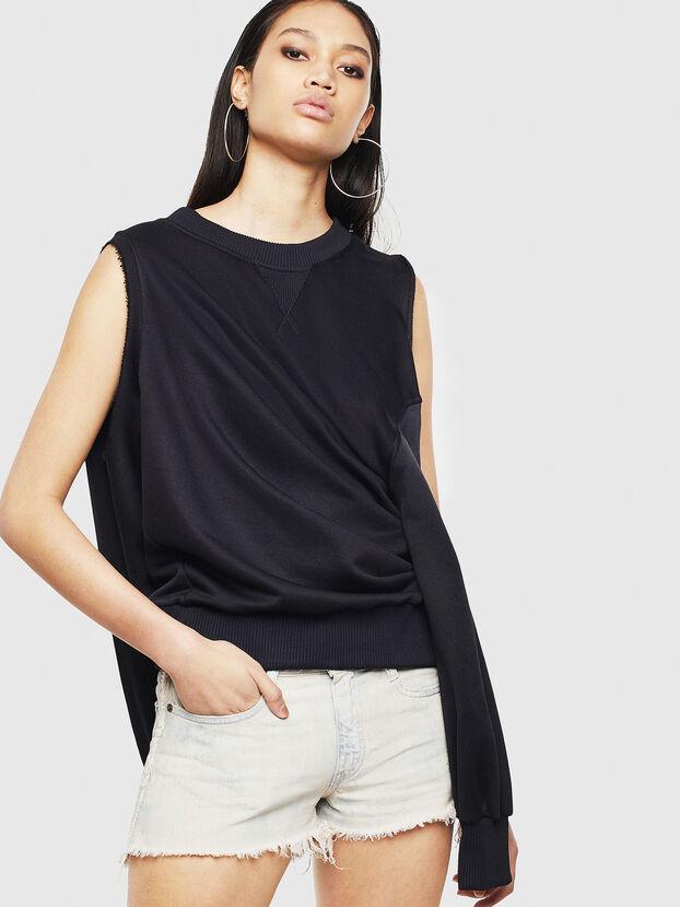 F-INVERT, Black - Sweaters