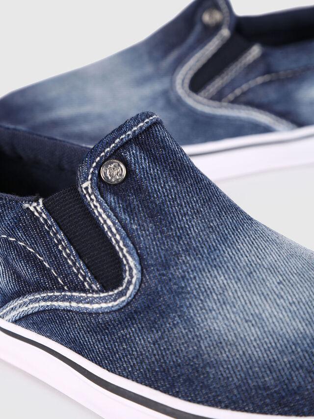 Diesel - SLIP ON 21 DENIM YO, Blue Jeans - Footwear - Image 4