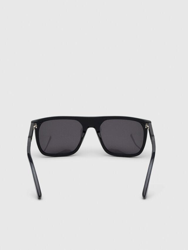Diesel - DL0299, Black/Grey - Sunglasses - Image 4