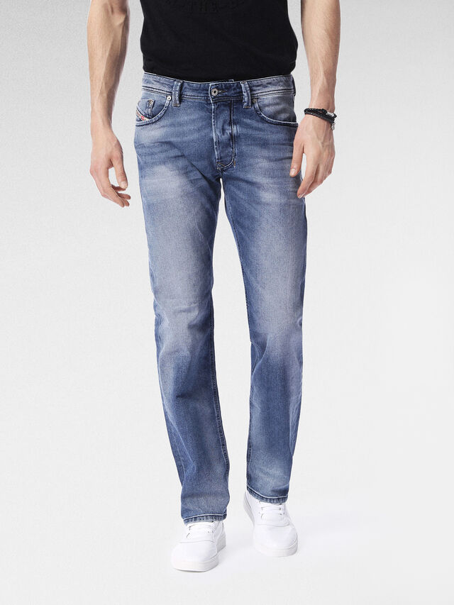 Diesel Larkee 0853P, Light Blue - Jeans - Image 1