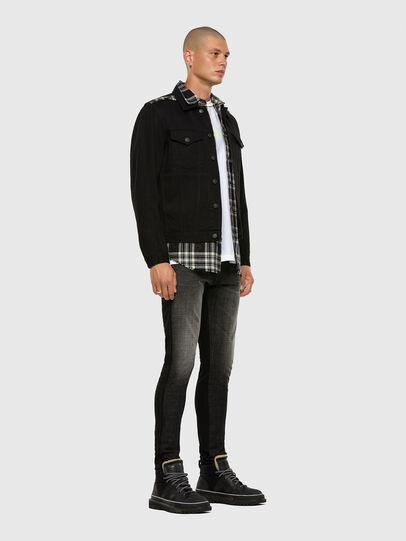 Diesel - D-Strukt 009HY, Black/Dark grey - Jeans - Image 7