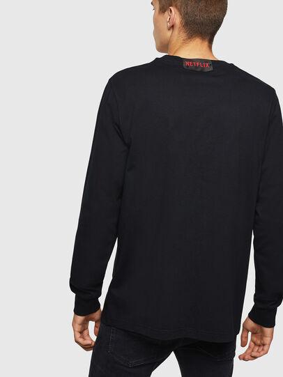 Diesel - LCP-T-JUST-LS-ESTOCO, Black - T-Shirts - Image 2