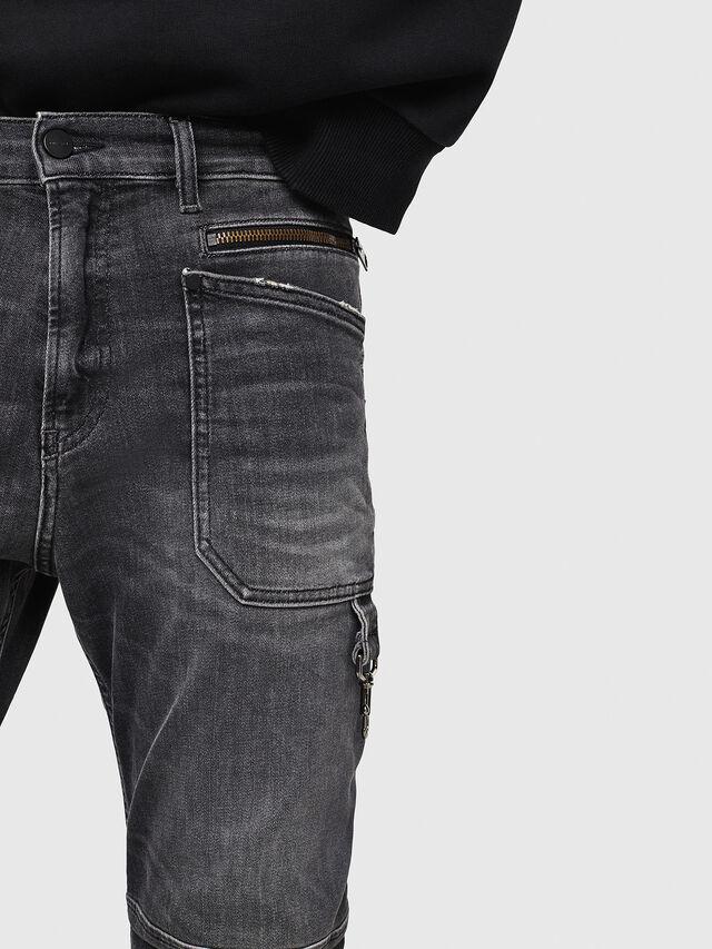 Diesel - D-Phormer 069DM, Black/Dark grey - Jeans - Image 5