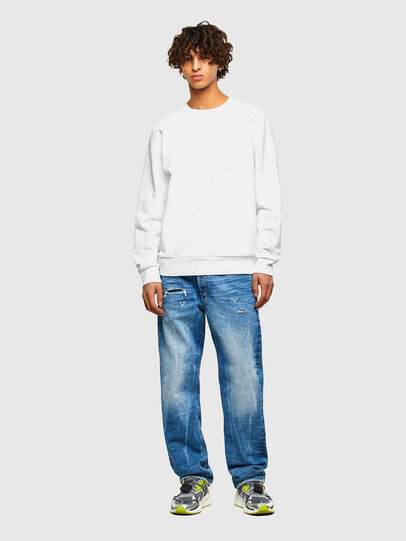 Diesel - S-GIRK-A70, White - Sweaters - Image 4