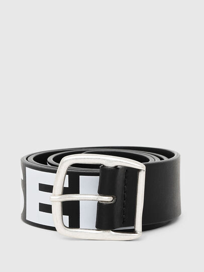 Diesel - BARBAR, Black/White - Belts - Image 1