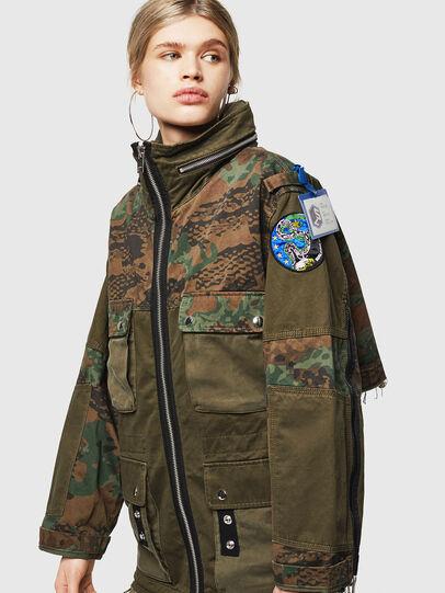 Diesel - G-LEE-C, Military Green - Jackets - Image 1