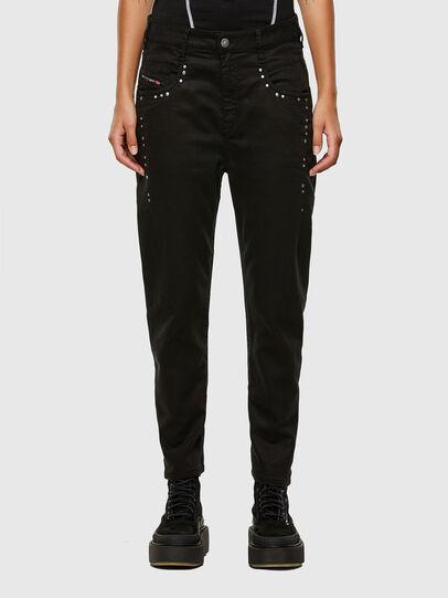 Diesel - Fayza JoggJeans 069NC, Black/Dark grey - Jeans - Image 1