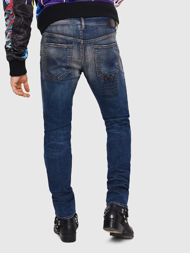 Diesel - Buster 087AW, Dark Blue - Jeans - Image 2