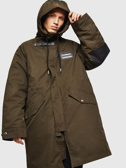 Diesel - W-KOBEC, Military Green - Winter Jackets - Image 4