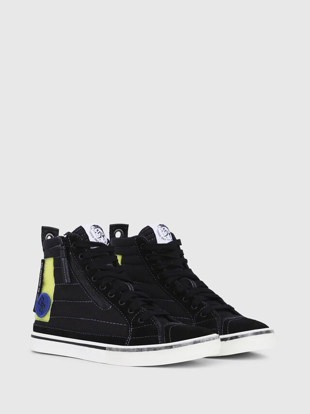Diesel - D-VELOWS MID PATCH W, Black - Sneakers - Image 2