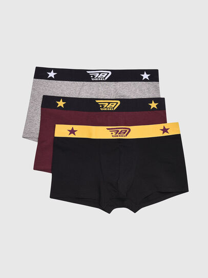 Diesel - UMBX-DAMIENTHREEPACK, Black/Grey - Trunks - Image 1