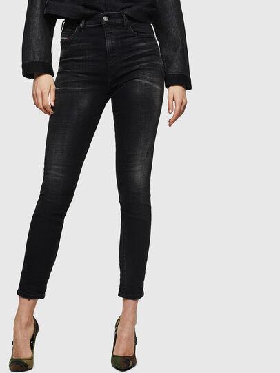 Diesel - Babhila High 0092B, Black/Dark grey - Jeans - Image 1