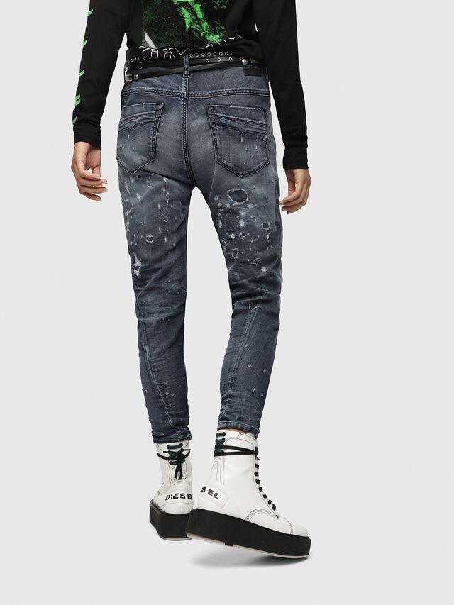 Diesel - Fayza JoggJeans 069CC, Dark Blue - Jeans - Image 2