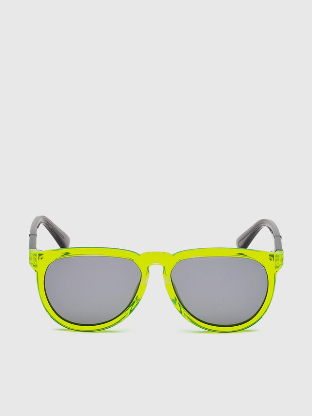 Diesel - DL0272, Yellow Fluo - Kid Eyewear - Image 1