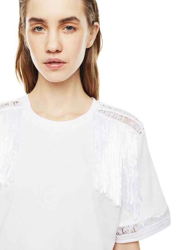 Diesel - TREENA, White - T-Shirts - Image 4