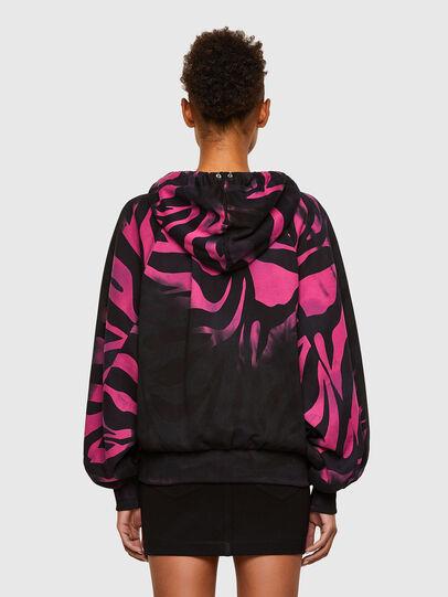 Diesel - F-BIORG, Black/Pink - Sweaters - Image 2
