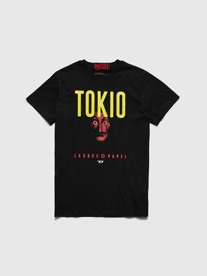 LCP-T-DIEGO-TOKIO, Black - T-Shirts
