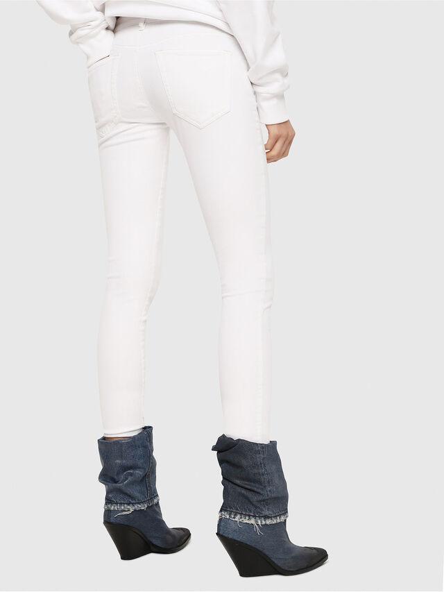 Diesel - Slandy Low 086AC, White - Jeans - Image 2