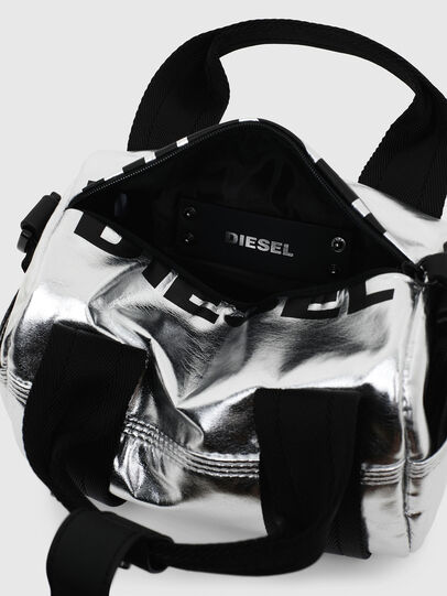 Diesel - F-BOLD MINI, Silver - Satchels and Handbags - Image 6