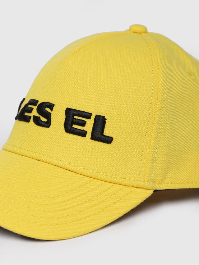 Diesel CIDIES, Yellow - Caps, Hats and Gloves - Image 2