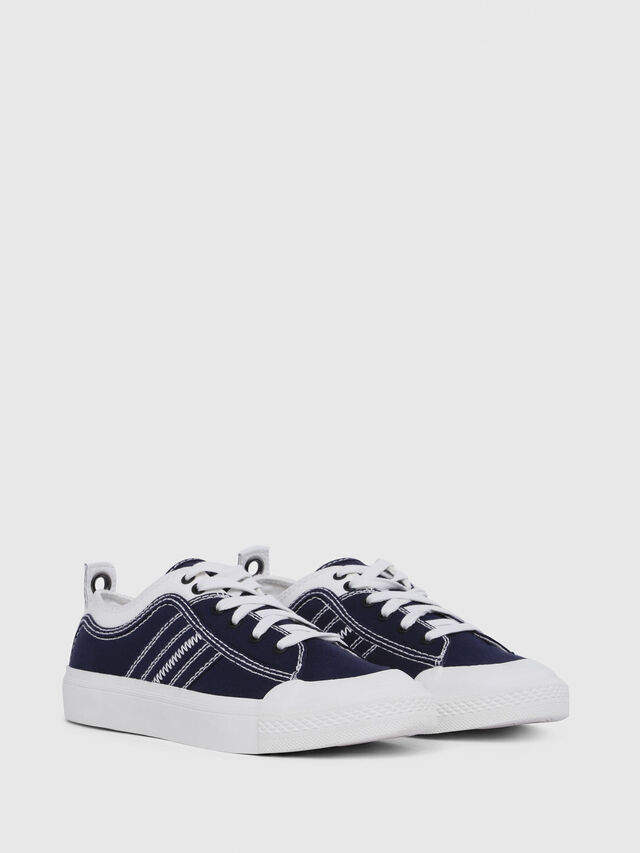 Diesel - S-ASTICO LOW LACE W, Blue/White - Sneakers - Image 2