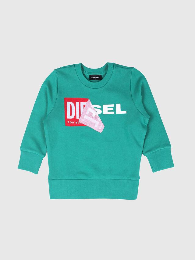 Diesel - SALLIB-R, Water Green - Sweaters - Image 1