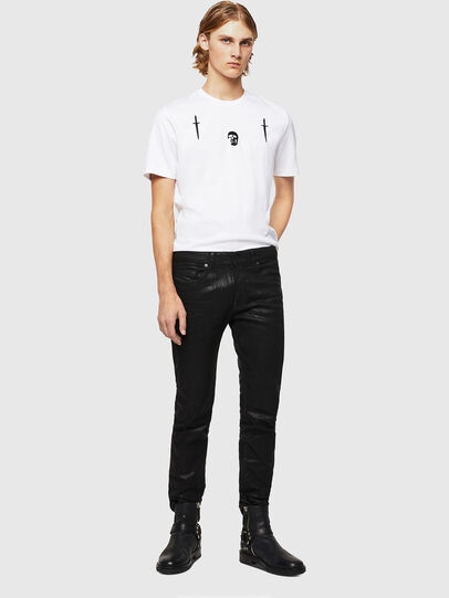 Diesel - TY-X2, White - T-Shirts - Image 5