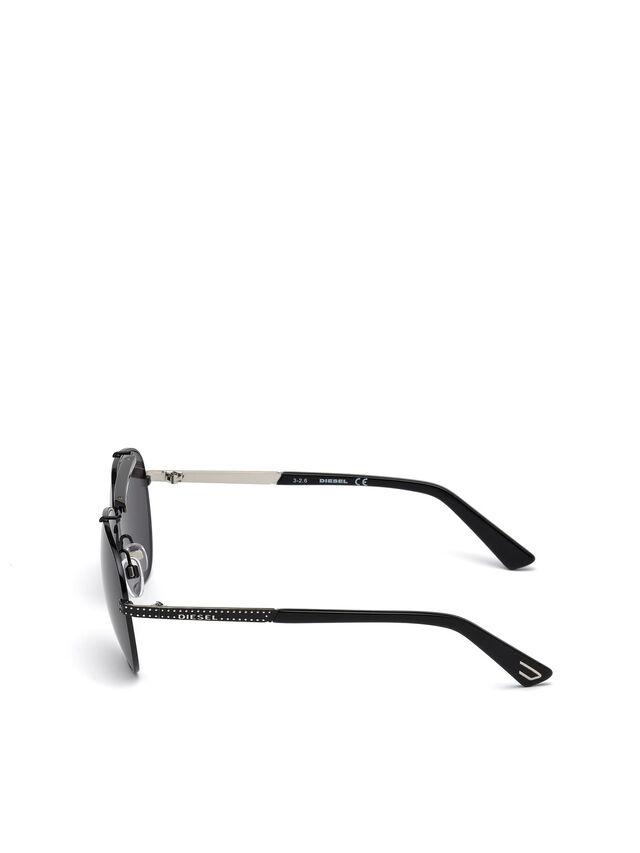 Diesel - DL0238, Black - Eyewear - Image 3