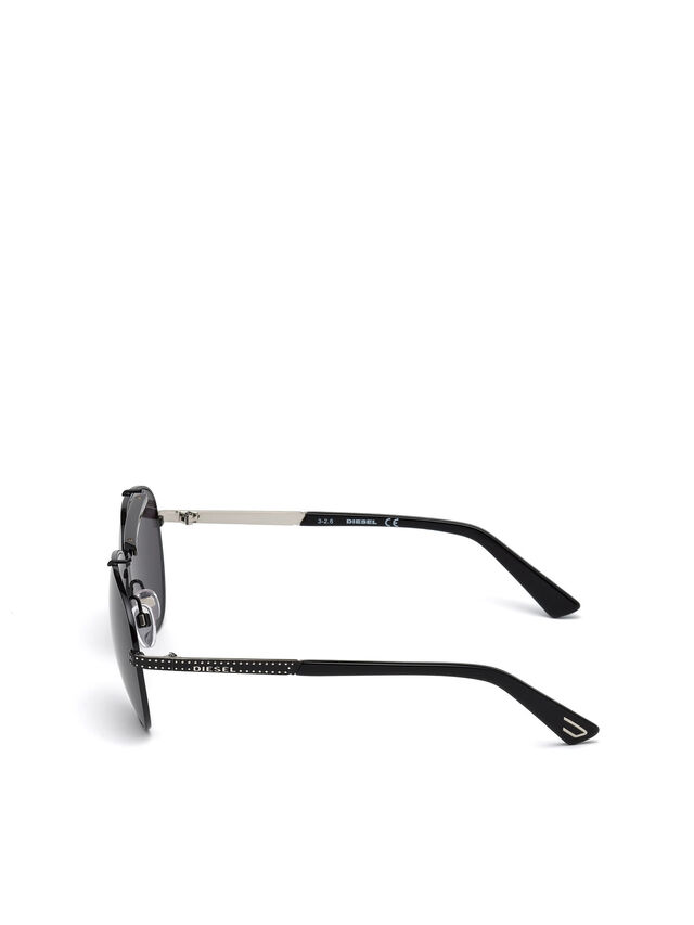 Diesel - DL0238, Black - Sunglasses - Image 3