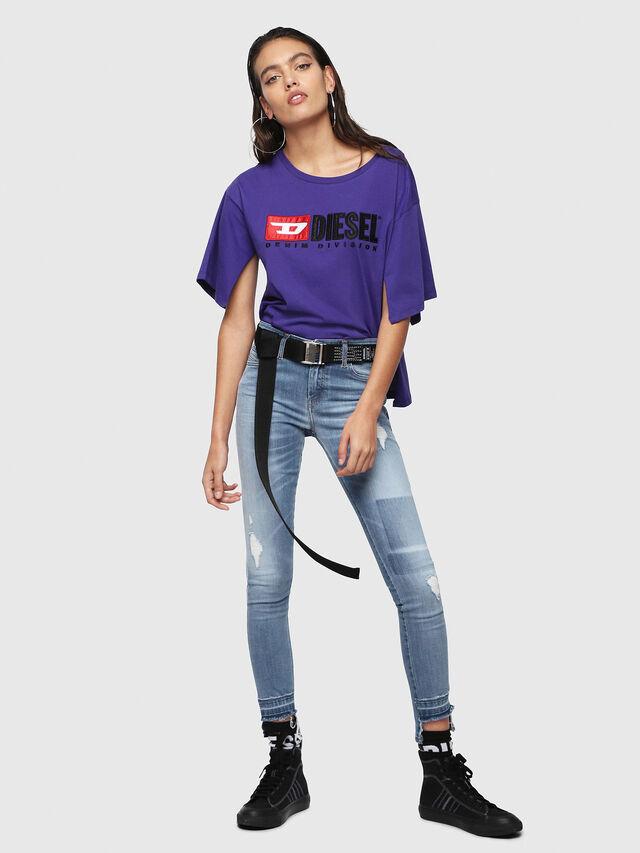 Diesel - Slandy 086AH, Light Blue - Jeans - Image 5