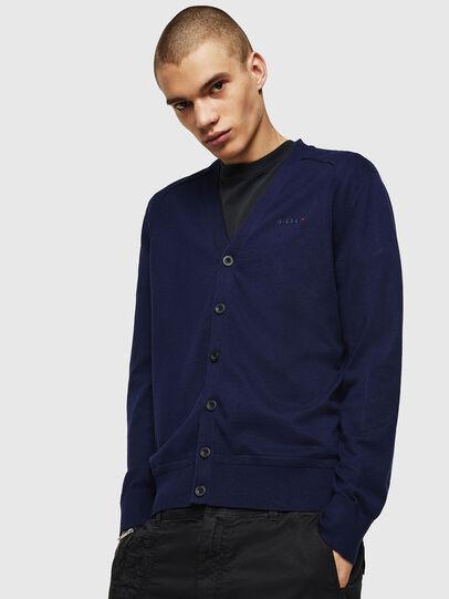 Diesel - K-MILOK, Blue - Knitwear - Image 1