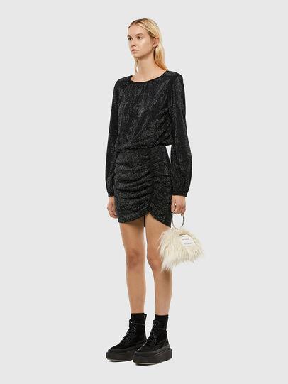 Diesel - D-RENEE-BLING-V2, Black - Dresses - Image 5