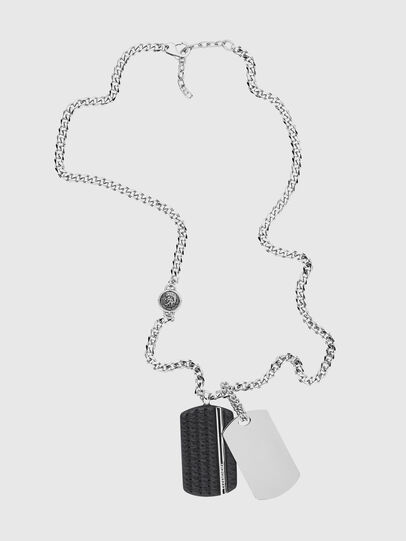 Diesel - DX1040, Silver - Necklaces - Image 1