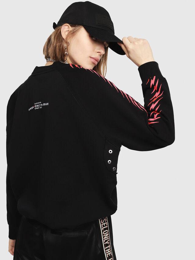 Diesel - F-ROXXY-D, Black - Sweaters - Image 2