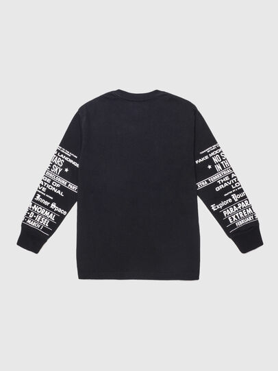 Diesel - TJUSTLSBX1 OVER, Black - T-shirts and Tops - Image 2