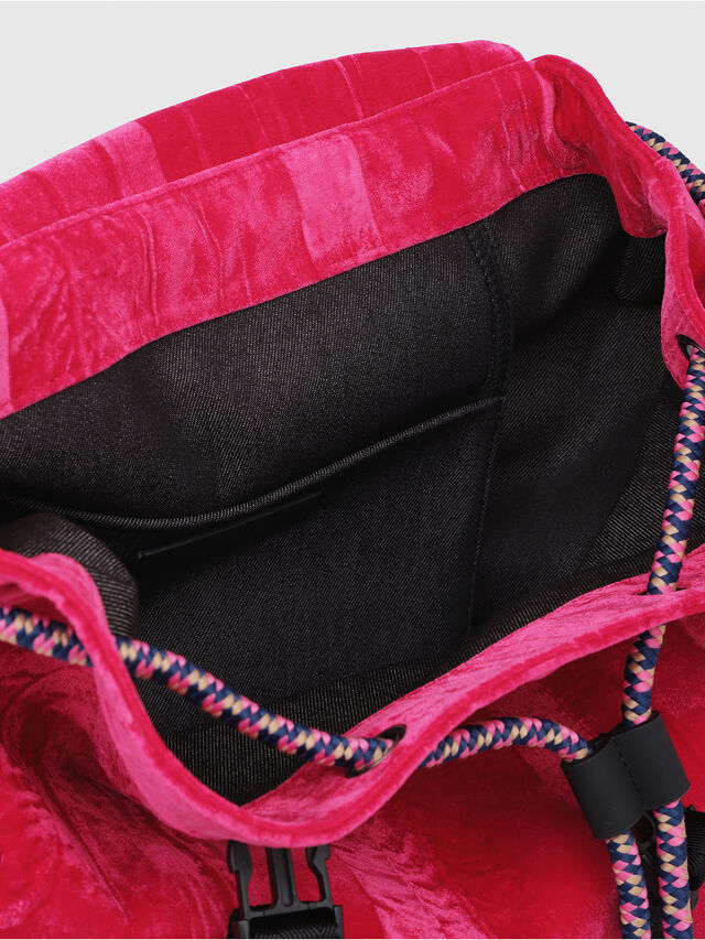 Diesel - F-MUSILE BACKPACK, Pink Fluo - Backpacks - Image 3