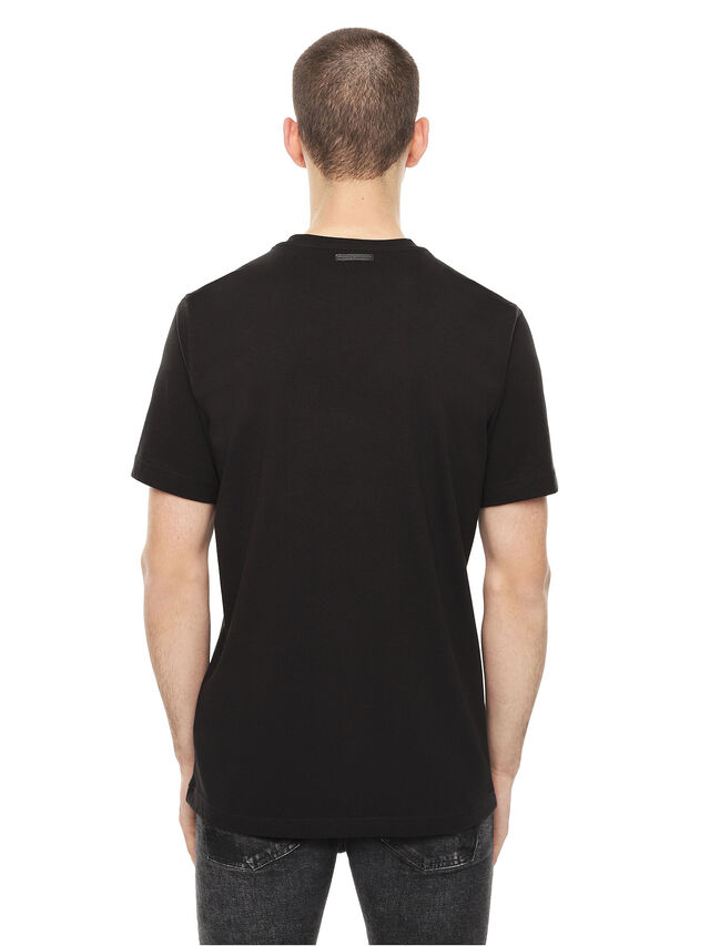 Diesel - TY-CHOPPER, Black - T-Shirts - Image 2