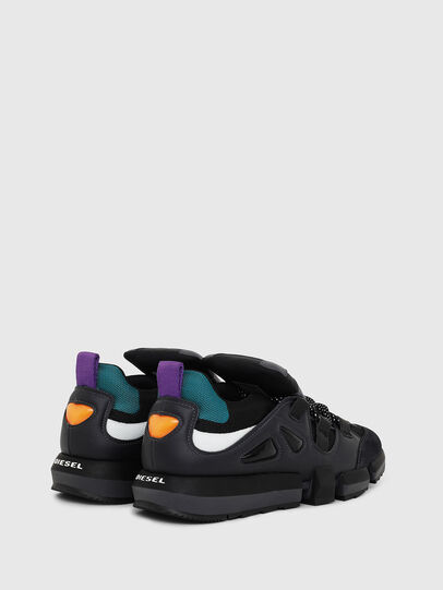 Diesel - H-PADOLA LOW S, Black - Sneakers - Image 3