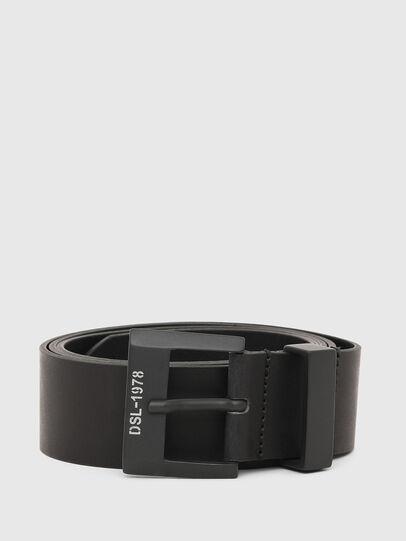 Diesel - B-MELO78, Black - Belts - Image 1